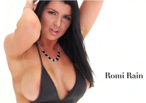Oiled up romi rain gets slammed 2