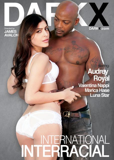 Intense anal sex interracial action